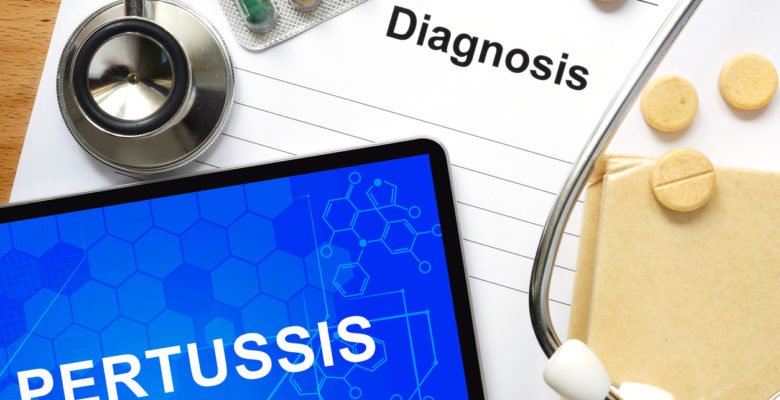 Injection-site pain and swelling are the most common side effects of vaccines against pertussis (whooping cough). There are also reports of seizures, encephalitis, brain disorders, and other severe side effects.